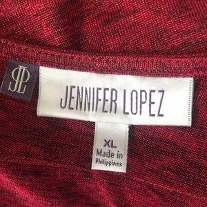 Jennifer Lopez Tops - 1 hr SALE - Jennifer Lopez Red Metallic Sexy